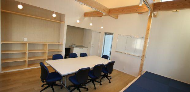 新築工事:造園会社の素敵な事務所完成
